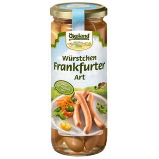 Frankfurter im Glas