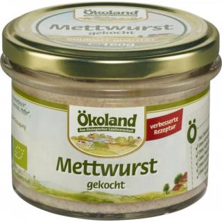 Gourmet Mettwust gekocht i. Glas (Schwein)