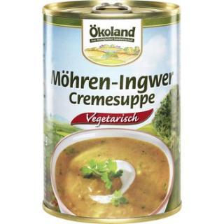 Möhren-Ingwer Cremesuppe, Dose