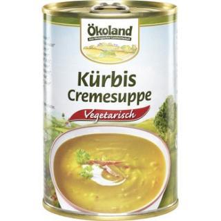 Kürbis-Cremesuppe, Dose