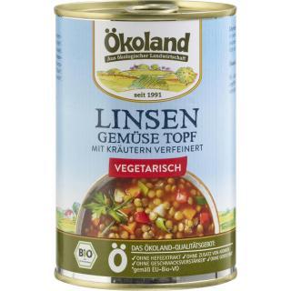 Linsen-Gemüse-Topf, vegetarisch
