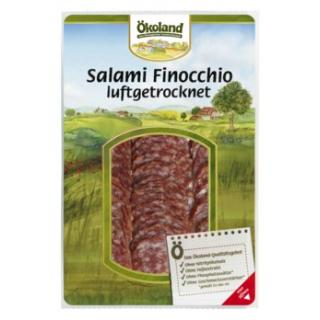 Salami Finocchio geschnitten