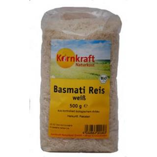 Basmatireis weiß (500g) -Kornkraft
