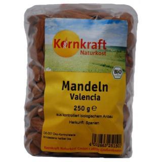 Mandeln - ganz, 250 g