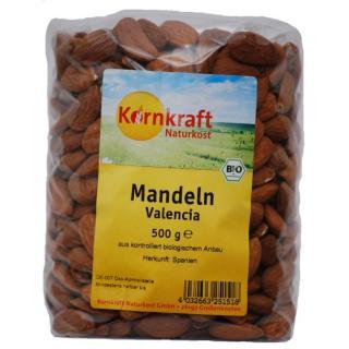 Mandeln - ganz, 500 g