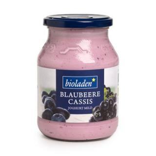 Blaubeere Joghurt 3,8% im Glas