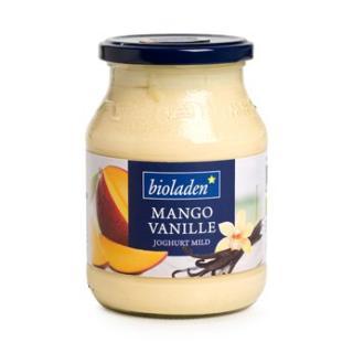 Mango - Vanille Joghurt 3,8% im Glas
