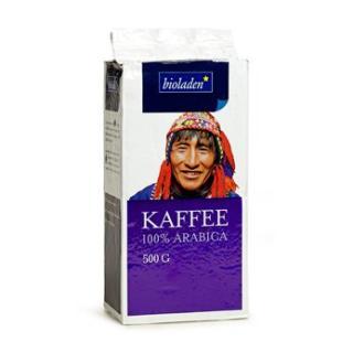 Kaffee 100% Arabica mild gemahlen