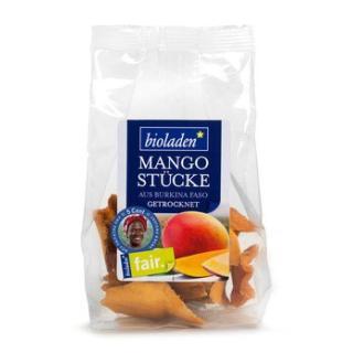 Mangostücke getrocknet, fair