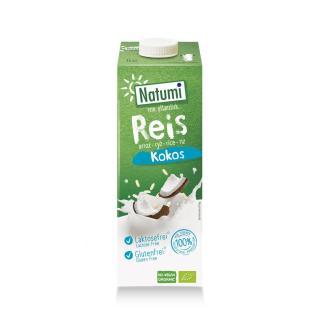 Reis-Kokosdrink - Natumi Tetra Pak