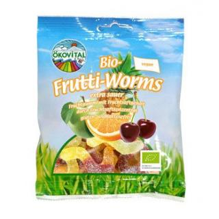 Frutti Worms - saure Frucht-