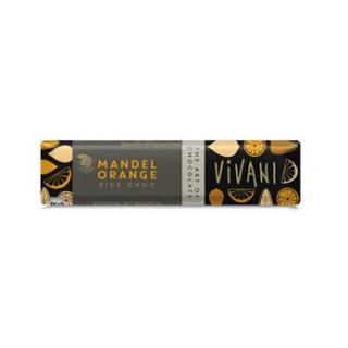 Schokoriegel Mandel Orange