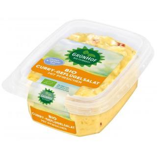 Geflügelsalat - Curry