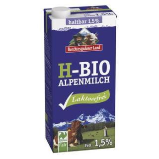 Milch - H-Alpenmilch 1,5% laktosefrei