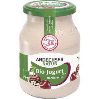 Herzkirsche Joghurt 3,7% im Glas