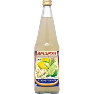 Zitronen-Ingwer Saft