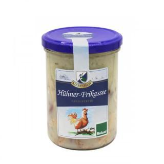Hühner-Frikassee