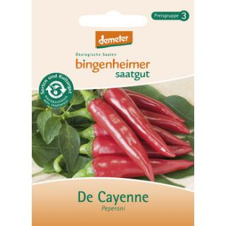 Peperoni De Cayenne, Saatgut
