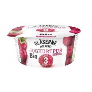 Joghurt pur Himbeere, 3,8% (Gläserne)