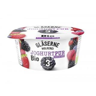 Joghurt pur BeerenMix, 3,8% (Gläserne)
