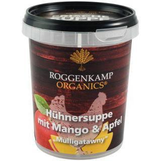Hühnersuppe m. Mango & Apfel Mulligatawny