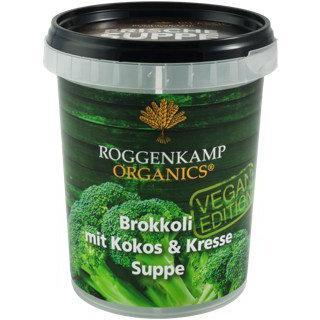 Brokkoli mit Kokos & Kresse
