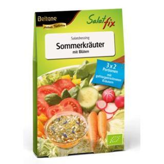 Salatfix Sommerkräuter Blüten