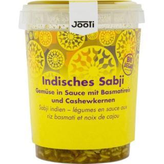 Indisches Sabji mit Cashew-Basmati-Reis