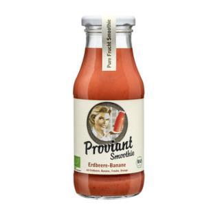 Smoothie Erdbeere-Banane, Proviant
