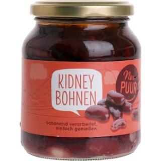 Kidneybohnen im Glas