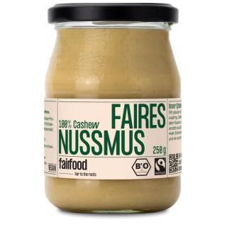Cashewmus im Pfandglas