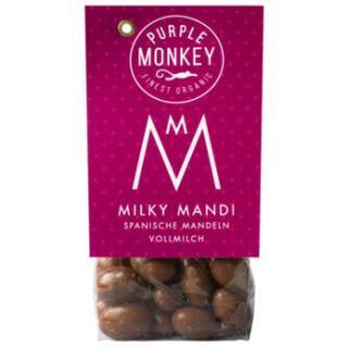 Milky Mandi (Mandeln in Vollmilchschokolade)