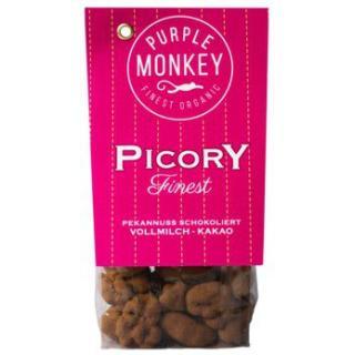 Picory (Pekannuss mit Vollmilchschokolade/Kakaopulver)