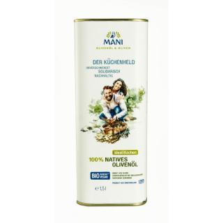 Olivenöl 100 % nativ -1,5 l Kanister