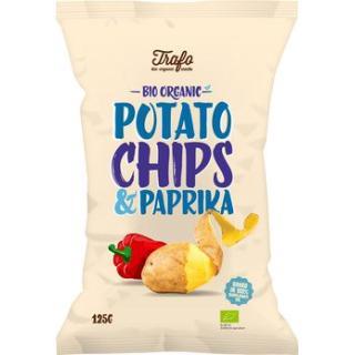 Kartoffelchips Paprika Trafo
