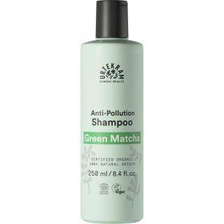 Shampoo Green Matcha für fettendes Haar 250ml - Urtekram