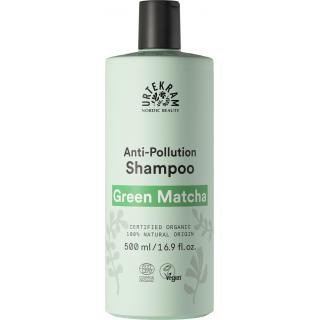 Shampoo Green Matcha für fettendes Haar 500ml - Urtekram
