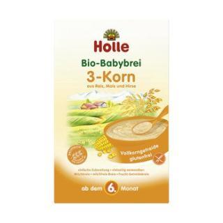 Bio 3-Korn-Brei