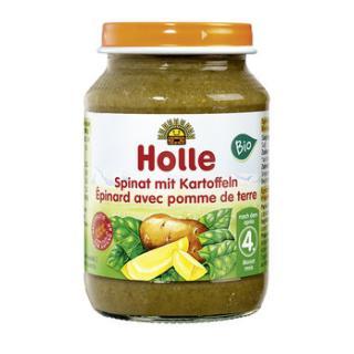 Spinat mit Kartoffeln (Holle)