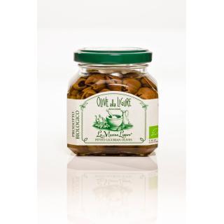 """Olive alla Ligure entst. in Öl """"Leccino&Peranzana"""""""