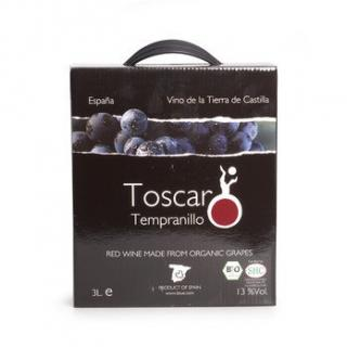 Toscar rot Tempranillo Box 3l