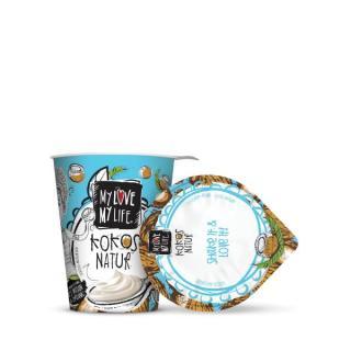 Kokosmilch-Joghurt Natur klein (125g)