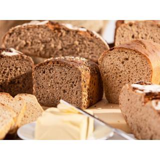 Brot Vielfalt - Halber Laib