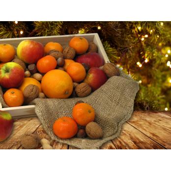 Adventskiste (Citrus + Nüsse)